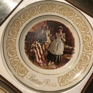 Betsy Ross plate